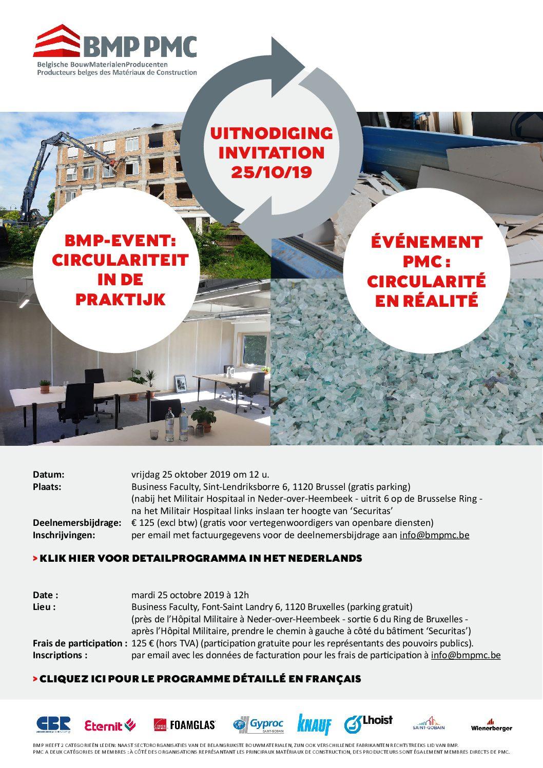 Jaarlijks event 25/10/2019